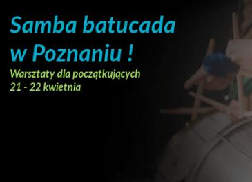 Samba batucada w Poznaniu